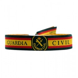 Pulsera de tela Guardia Civil